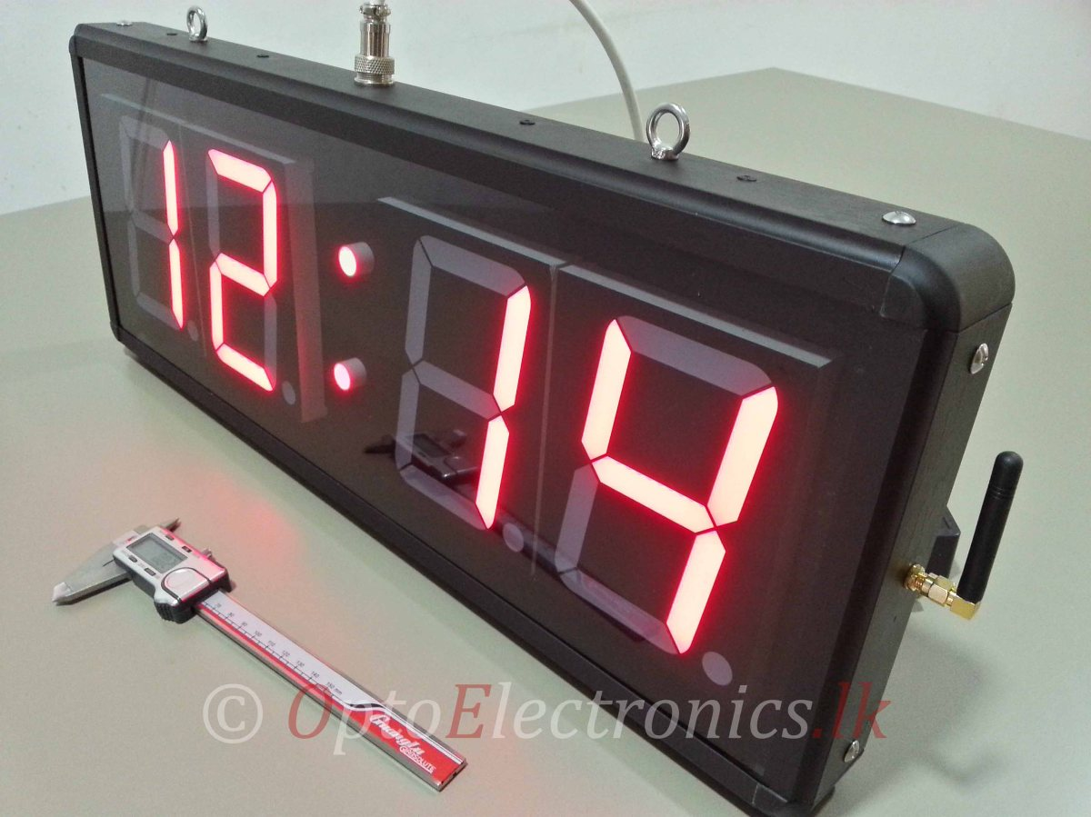 "5"" Precision digital clock"